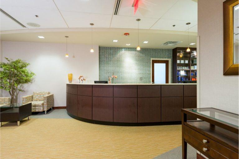 Aesthetica Office Lobby
